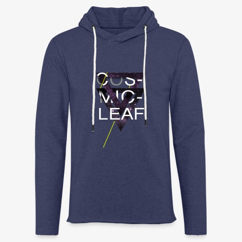 Cosmicleaf Triangles - Light Unisex Sweatshirt Hoodie