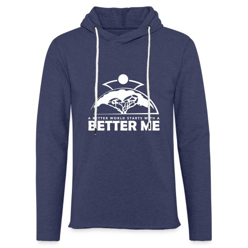 Better Me - White - Light Unisex Sweatshirt Hoodie