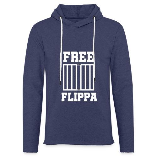 Free Flippa Wit - Lichte hoodie unisex