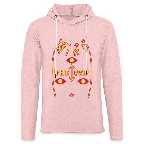 Pas på Mellemrummet - Let sweatshirt med hætte, unisex