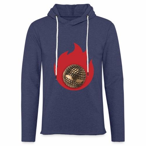 petanque fire - Sweat-shirt à capuche léger unisexe