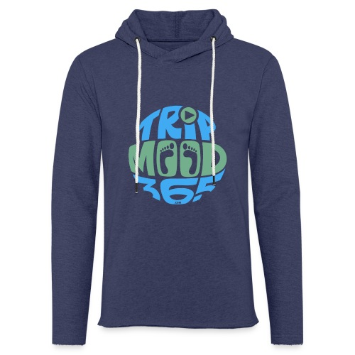 TRIPMOOD365 Traveler Clothes and Products- Colors - Kevyt unisex-huppari