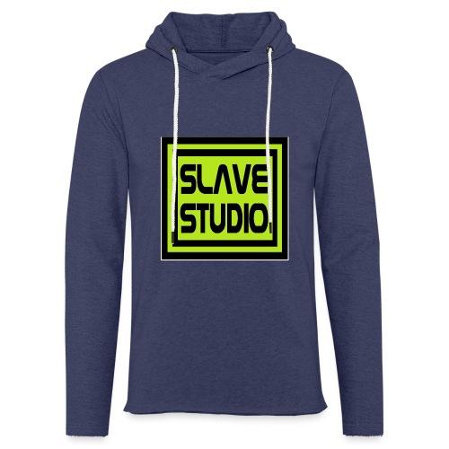 Slave Studio logo - Felpa con cappuccio leggera unisex