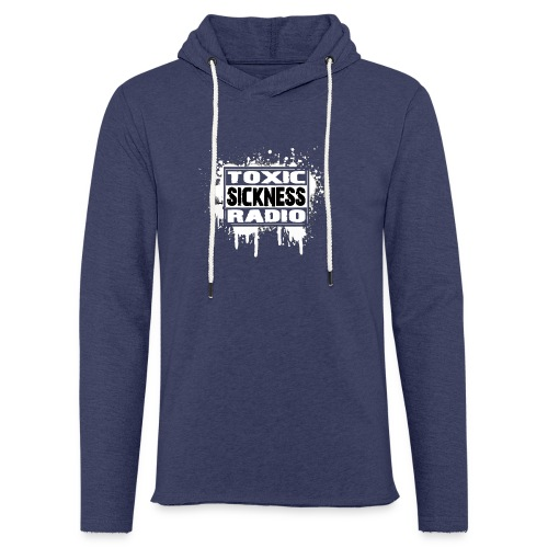 TOXIC SICKNESS RADIO LOGO - Light Unisex Sweatshirt Hoodie