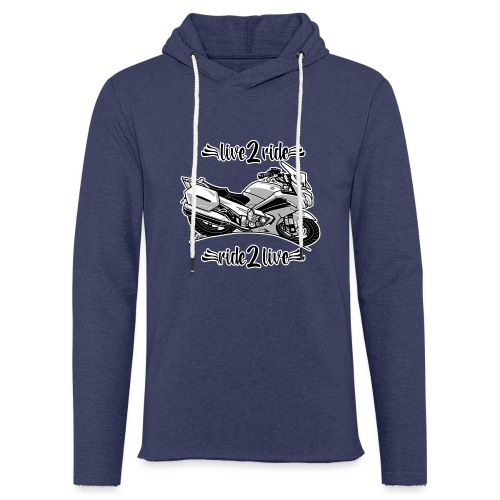 0964 live 2 ride ride 2 live - Lichte hoodie unisex