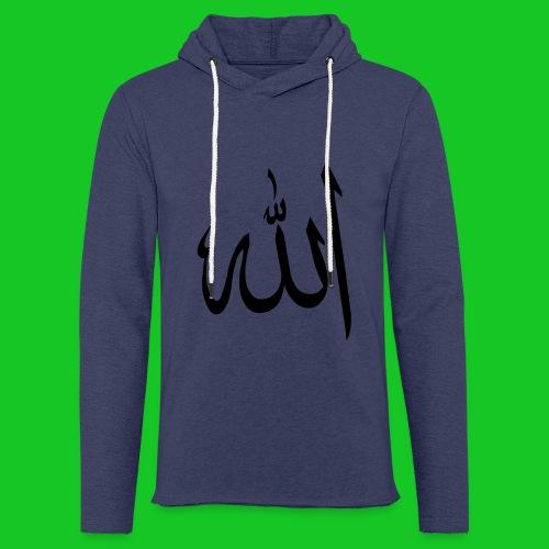 Allah - Lichte hoodie unisex