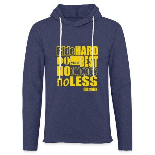 ridehard yellow - Light Unisex Sweatshirt Hoodie