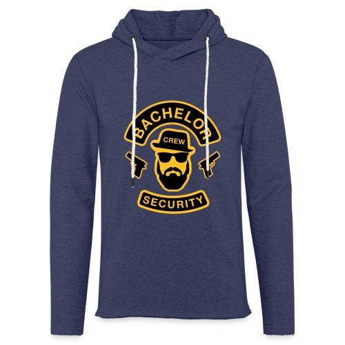 Bachelor Security - JGA T-Shirt - Bräutigam Shirt - Leichtes Kapuzensweatshirt Unisex
