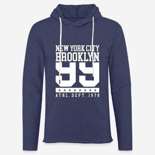 New York City Brooklyn - Leichtes Kapuzensweatshirt Unisex