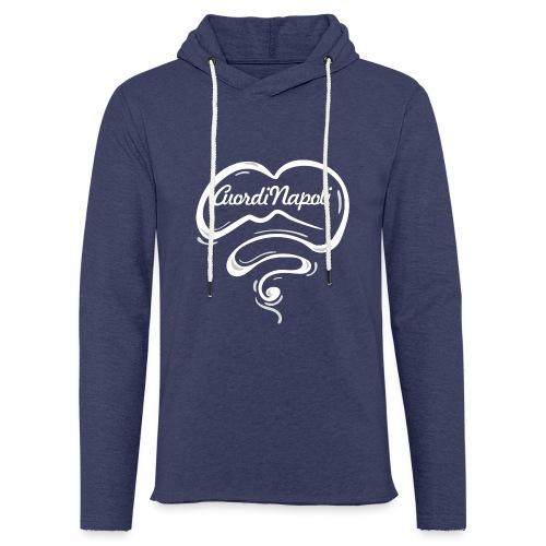 CuordiNapoli New Logo - Felpa con cappuccio leggera unisex