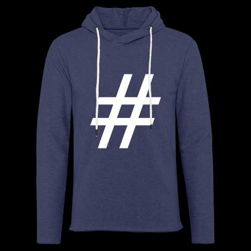 Hashtag Team - Leichtes Kapuzensweatshirt Unisex