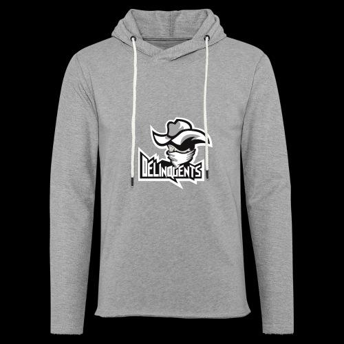 Delinquents TriColor - Let sweatshirt med hætte, unisex