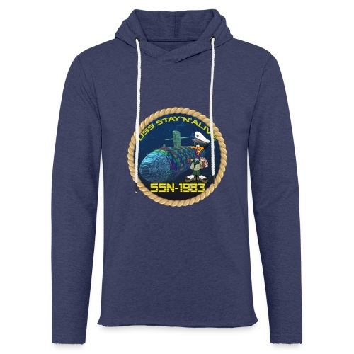 Command Badge SSN-1983 - Light Unisex Sweatshirt Hoodie