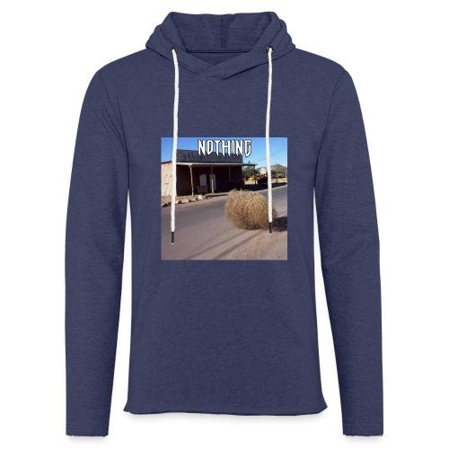 NOTHING - Sweat-shirt à capuche léger unisexe