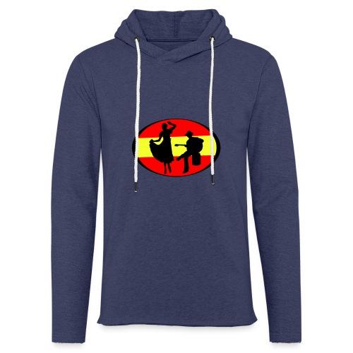 flamenco dessin - Sweat-shirt à capuche léger unisexe