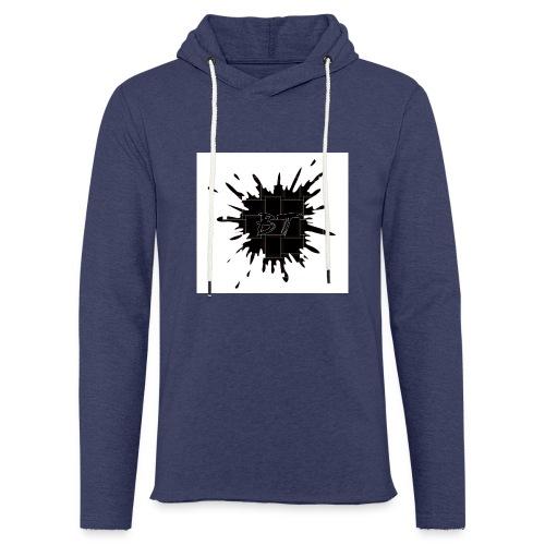 Blacktuber Splash Logo - Lichte hoodie unisex