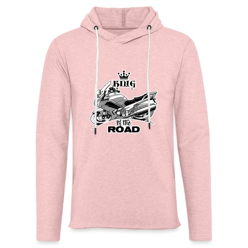 0883 FJR KING of the ROAD - Lichte hoodie unisex