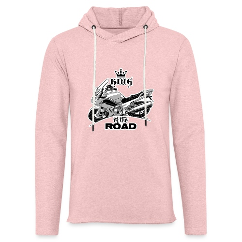 0884 FJR KING of the ROAD - Lichte hoodie unisex