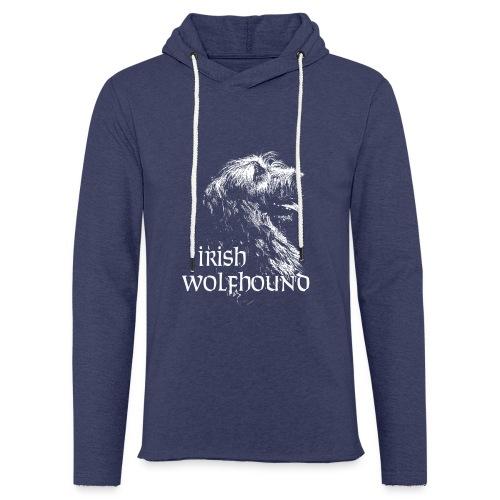 IW Céleste - Sweat-shirt à capuche léger unisexe