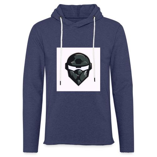 Mainlogo - Let sweatshirt med hætte, unisex