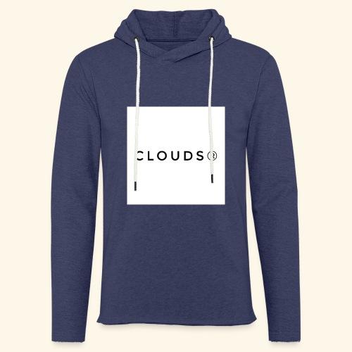 Clouds 01 - Leichtes Kapuzensweatshirt Unisex