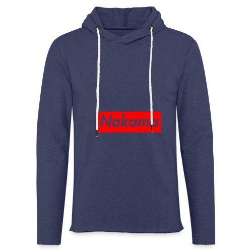 Nakama - Sweat-shirt à capuche léger unisexe