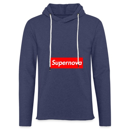 Supernova - Sweat-shirt à capuche léger unisexe