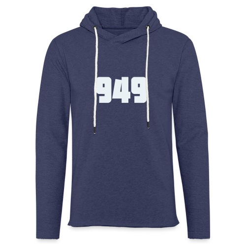 949withe - Leichtes Kapuzensweatshirt Unisex