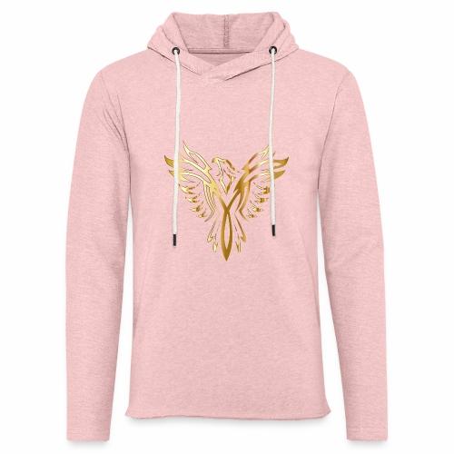 Złoty fenix - Lekka bluza z kapturem
