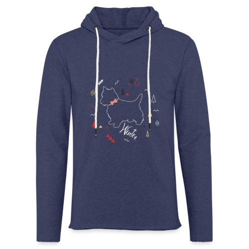 WINTER DOG COLLECTION - Sweat-shirt à capuche léger unisexe
