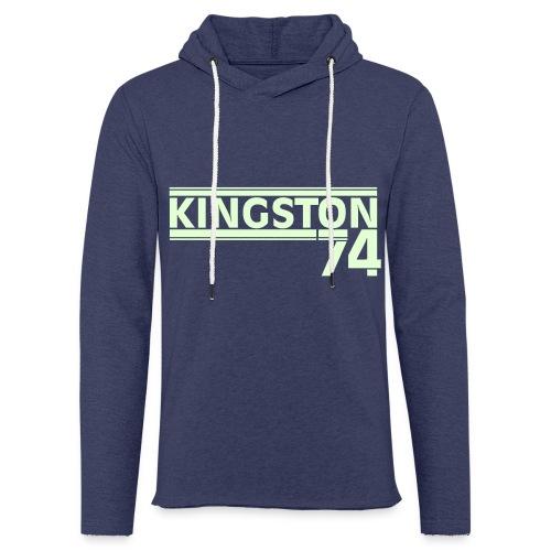 Kingston 74 - Sweat-shirt à capuche léger unisexe