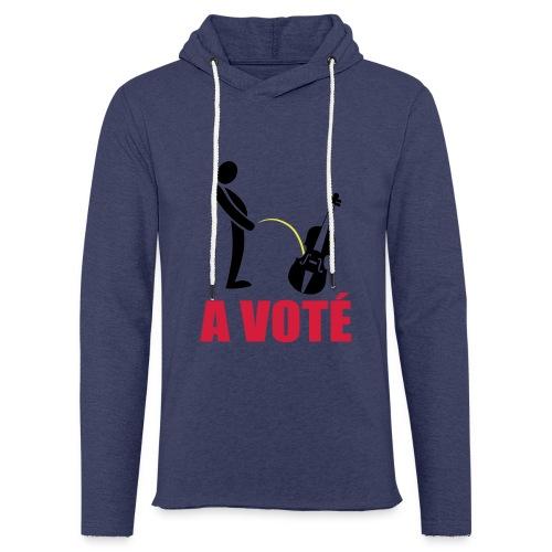 A voté - Sweat-shirt à capuche léger unisexe