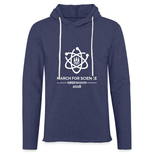March for Science København 2018 - Light Unisex Sweatshirt Hoodie