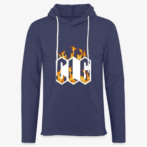 CLG DESIGN - Sweat-shirt à capuche léger unisexe