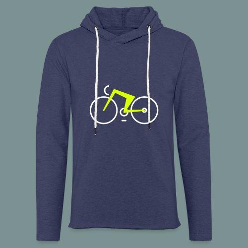 Bikes against cancer - Let sweatshirt med hætte, unisex