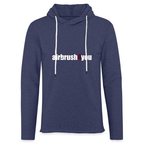 Airbrush - Leichtes Kapuzensweatshirt Unisex