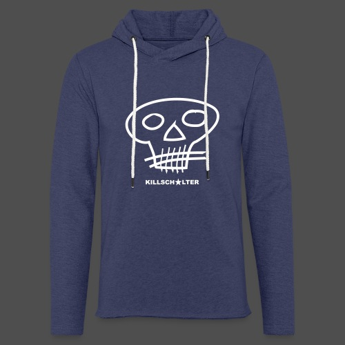 Skull - Leichtes Kapuzensweatshirt Unisex