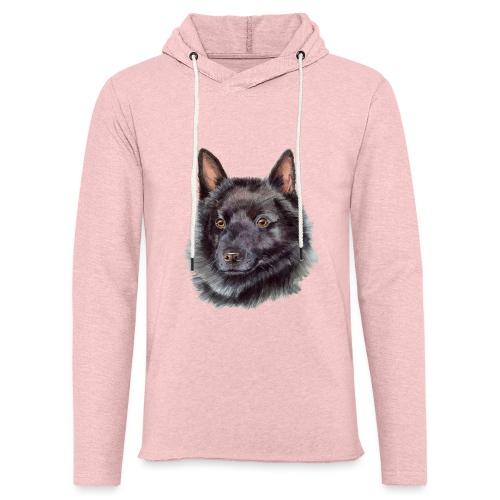 schipperke - M - Let sweatshirt med hætte, unisex