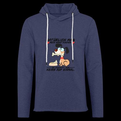 Dog - Leichtes Kapuzensweatshirt Unisex