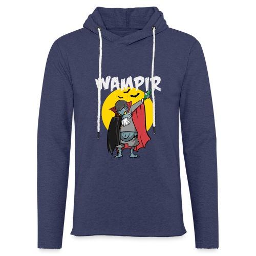 Wampir - lustiges Vampir Bierbauch Fun T-Shirt - Leichtes Kapuzensweatshirt Unisex