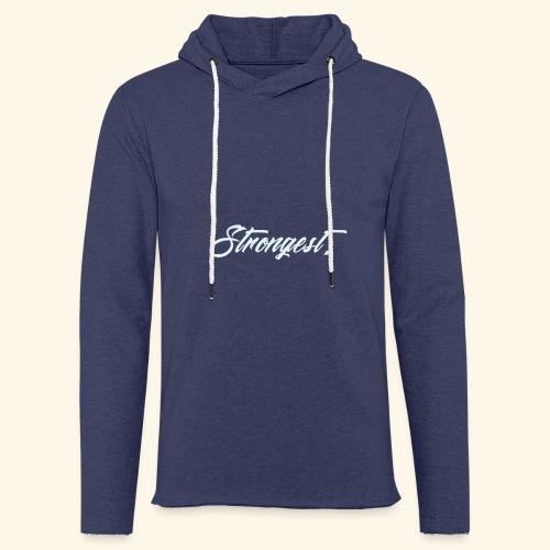 Strongest - Sweat-shirt à capuche léger unisexe