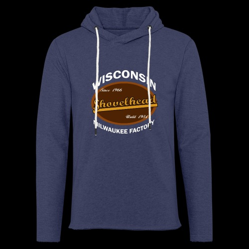 Milwaukee Shovelhead - Leichtes Kapuzensweatshirt Unisex
