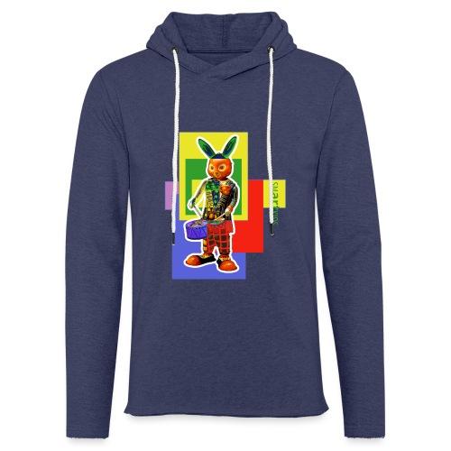 smARTkids - Slammin' Rabbit - Light Unisex Sweatshirt Hoodie