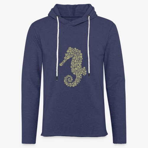 Seepferdchen - Leichtes Kapuzensweatshirt Unisex
