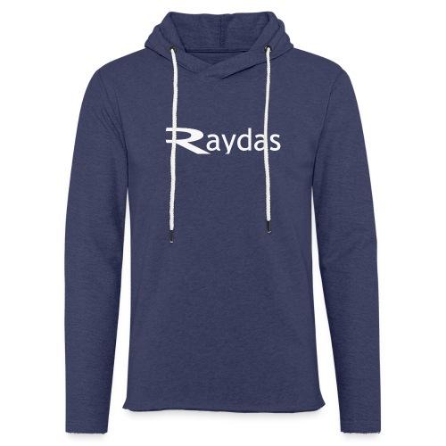 raydas vintage logo - Leichtes Kapuzensweatshirt Unisex