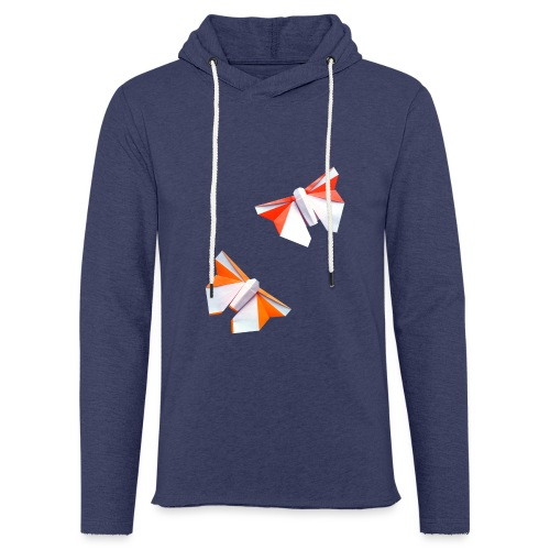 Butterflies Origami - Butterflies - Mariposas - Light Unisex Sweatshirt Hoodie