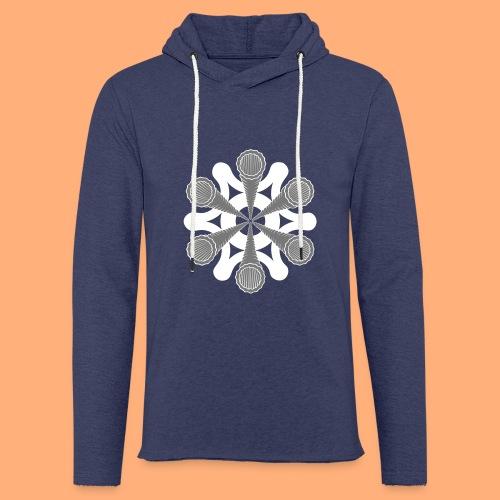 vortex - Sweat-shirt à capuche léger unisexe