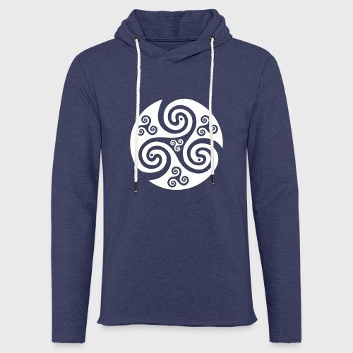 Triskel celtique - Sweat-shirt à capuche léger unisexe