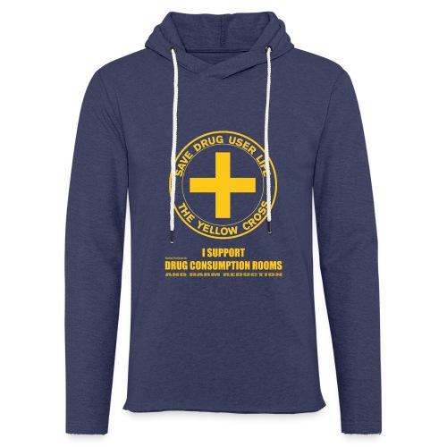 DCRs Save Lives - Lekka bluza z kapturem