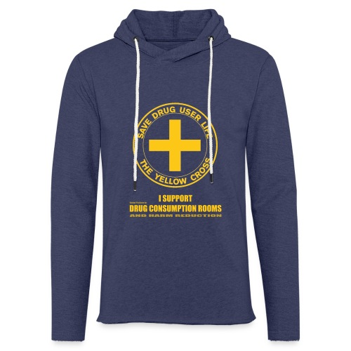 DCRs Save Lives - Sweat-shirt à capuche léger unisexe